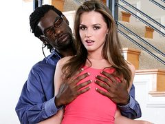 Tori Dark-Hued Meets Her Ebony Stepparent