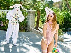 Mini Easter Bunny Stunner Gets Tucked